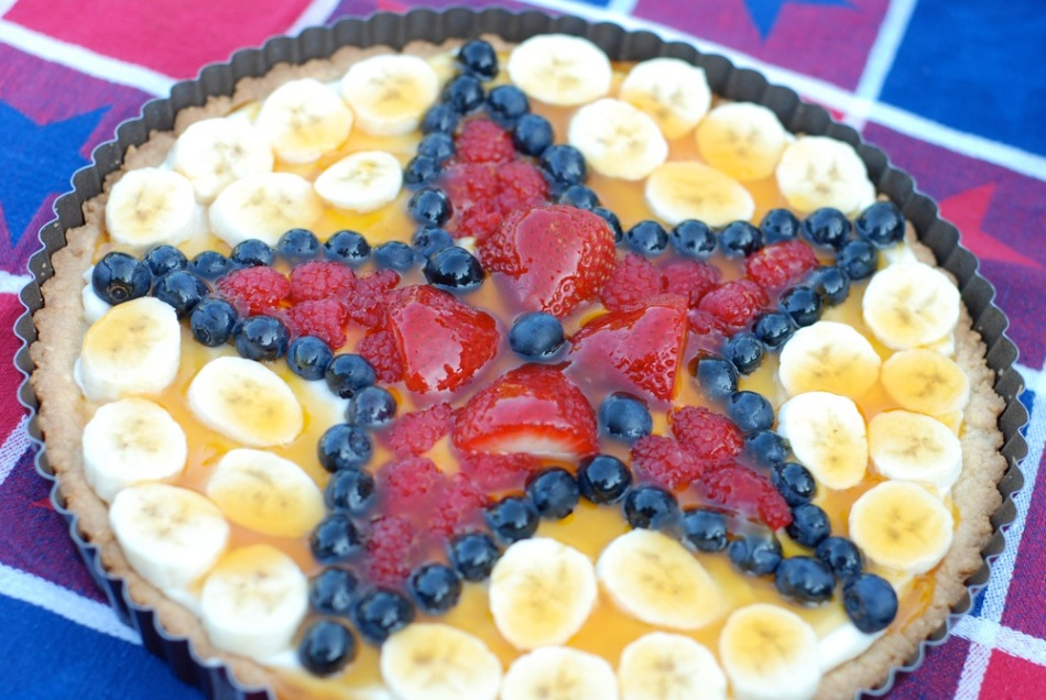 4th of July isn't official until there is fruit pizza.
